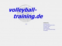 volleyball-training.de Webiste Thumbnail