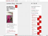 lipoedem-blog.de Webiste Thumbnail